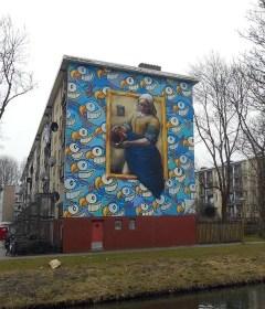 Murales Vermeer Amsterdam