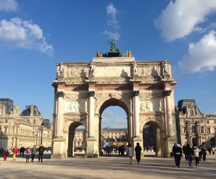 Arc de Triomphe du Carrousel Parigi