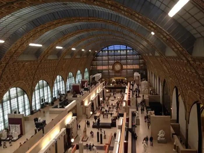 Museo d'Orsay - vista dall'alto