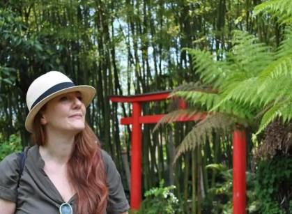 La Cosmopolita Roberta in visita a Heller Garden