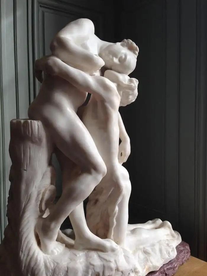Scultura di Rodin a Parigi