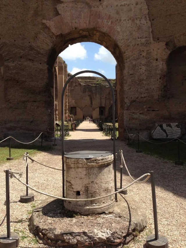 Terme di Caracalla - asse centrale