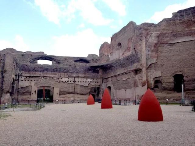 Terme di Caracalla- Palestra