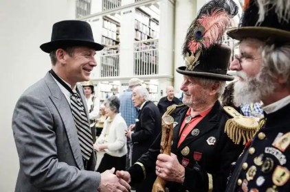 Mechanics Institute Library - The Emperor Norton celebration