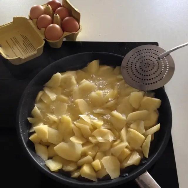 Tortilla di patate ricetta