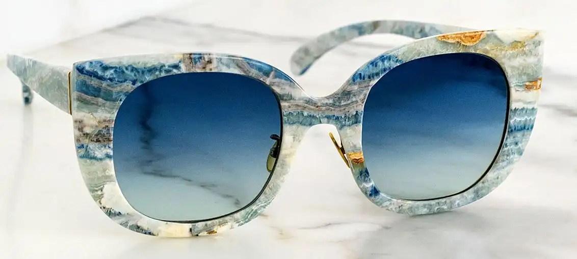 Budri eyewear: la nuova linea di occhiali da sole e da vista in marmo
