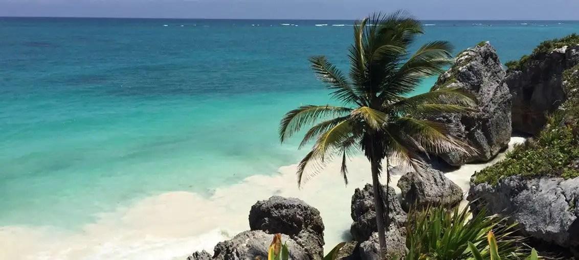 Tulum Rovine Maya spiaggia