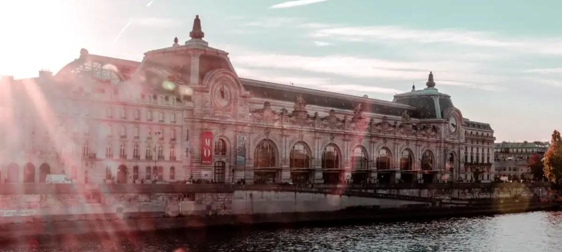 Museo d'Orsay di Parigi, facciata