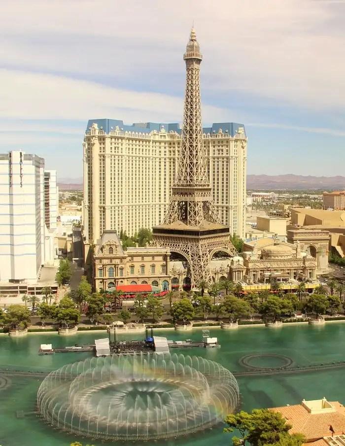 Tour Eiffel a Las Vegas