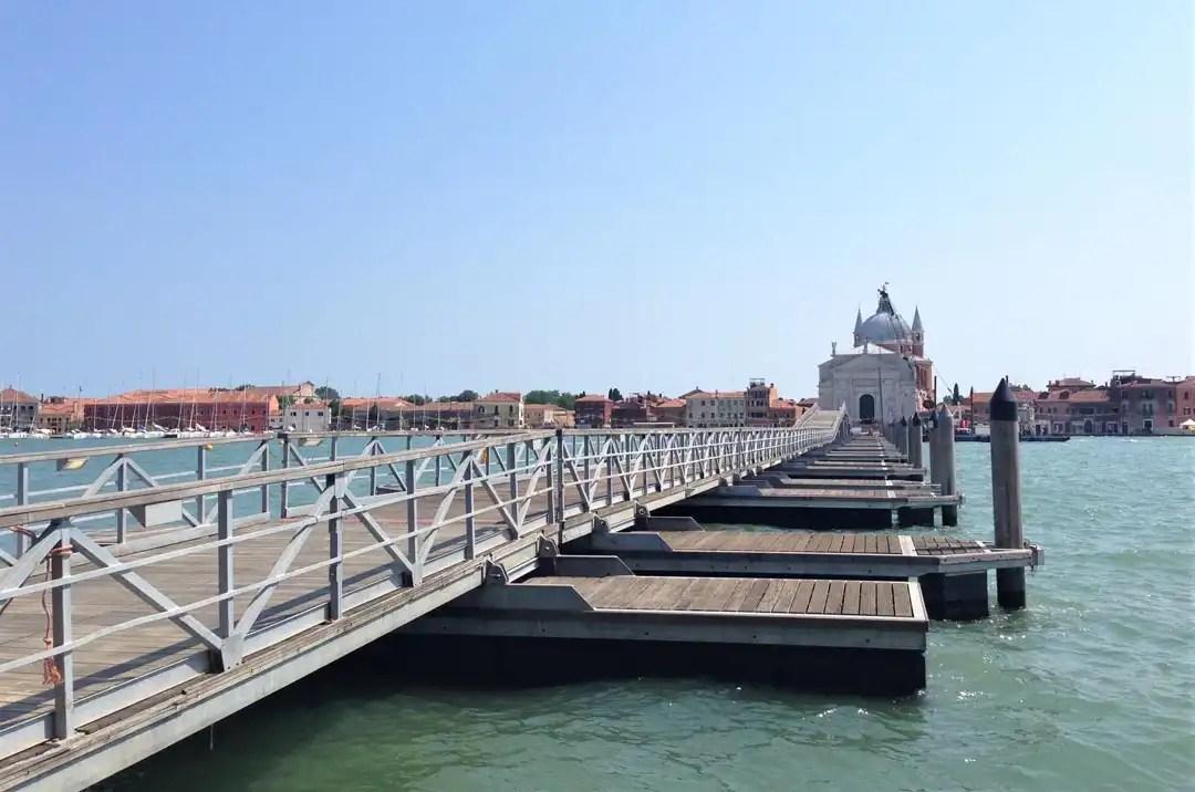Ponte del redentore a Venezia