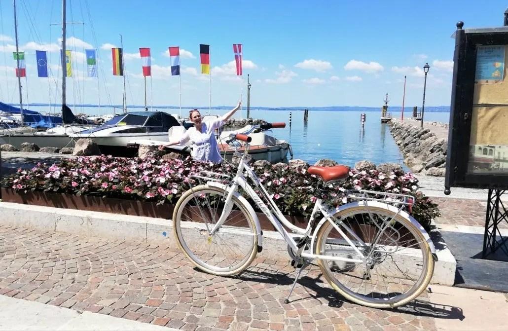 Tracciato pista ciclabile Lago di Garda