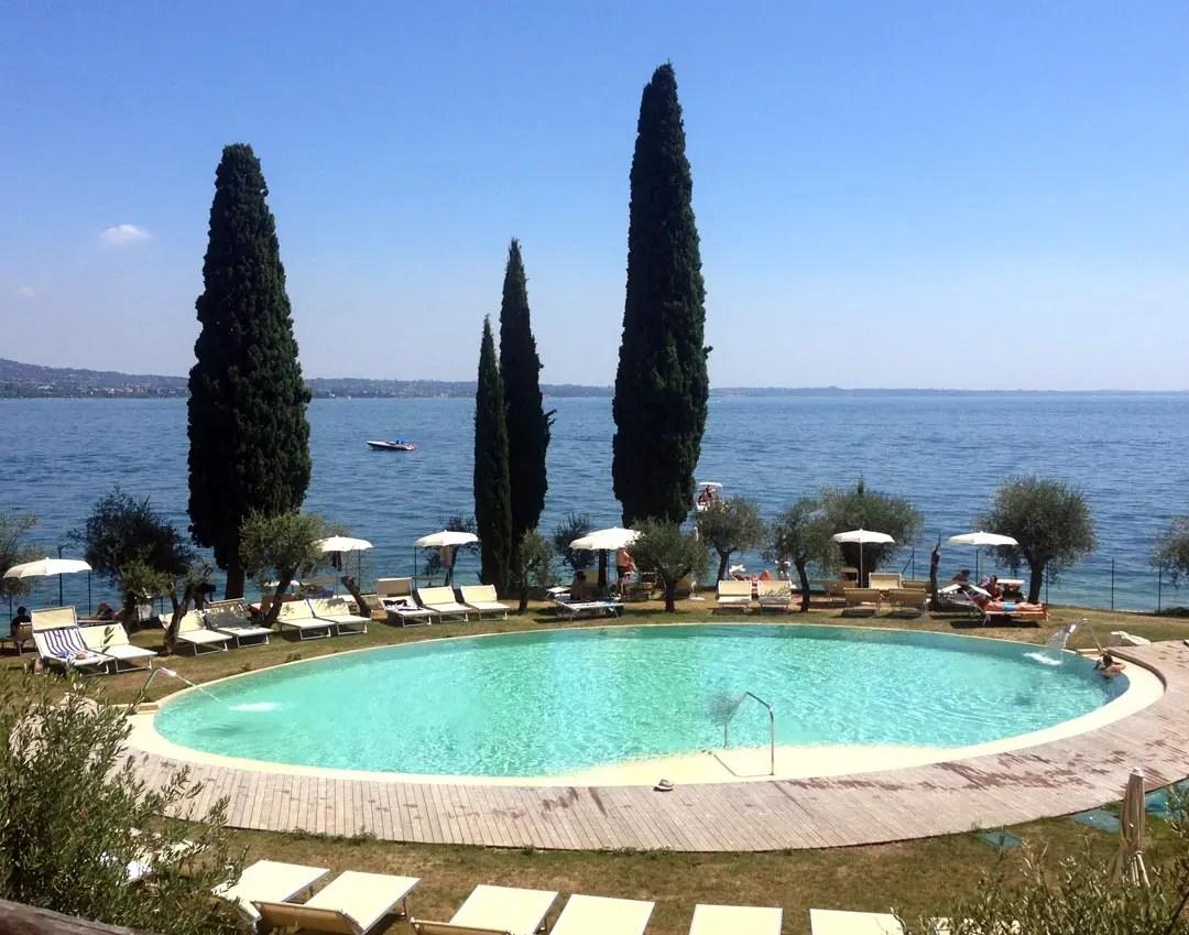 Punta San Vigilio piscina