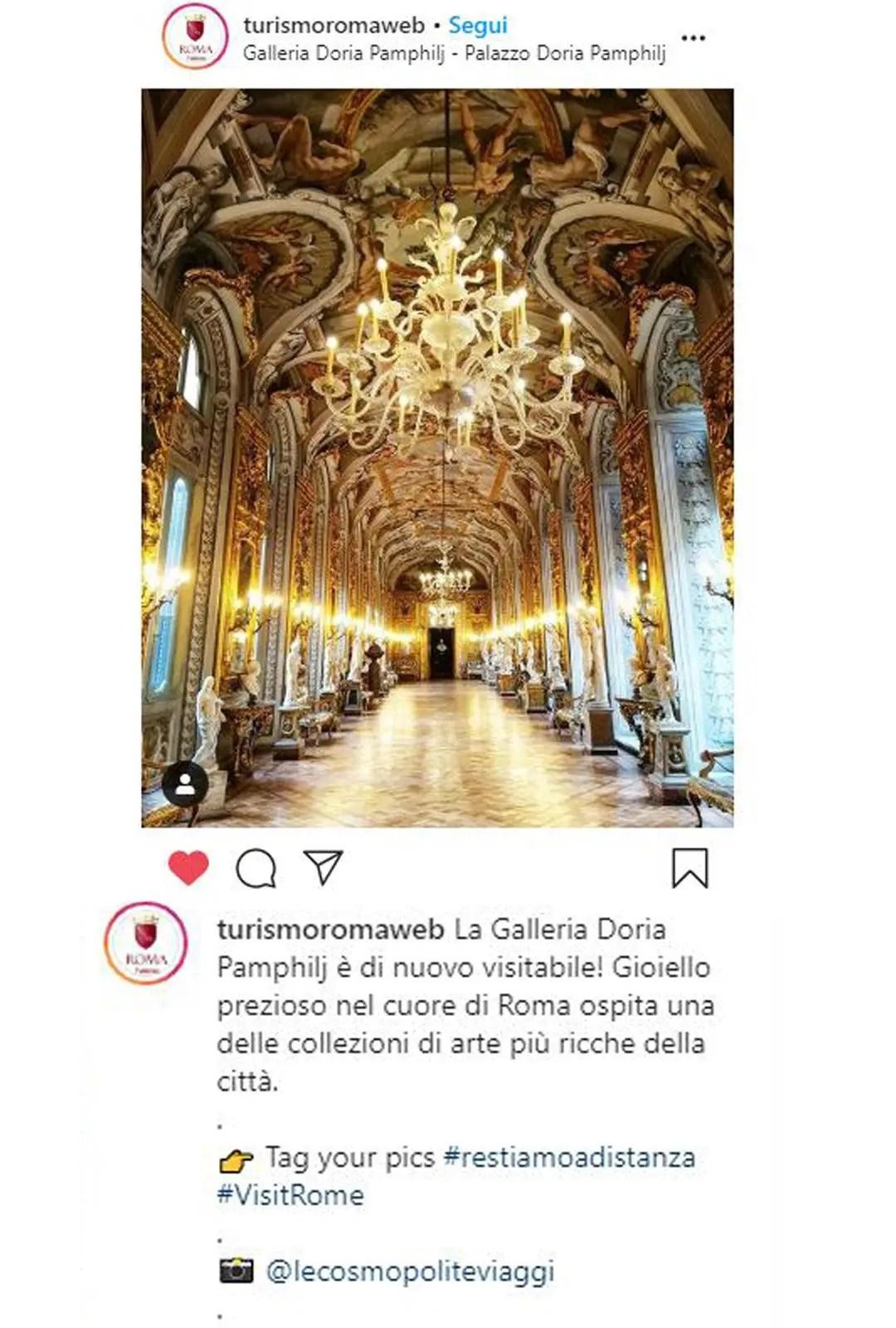 Roberta Ferrazzi di LeCosmopolite.it menzionata in Turismo Roma Web