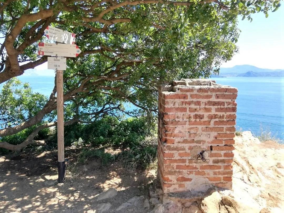 Punta Sasso alla Rocca di Manerba