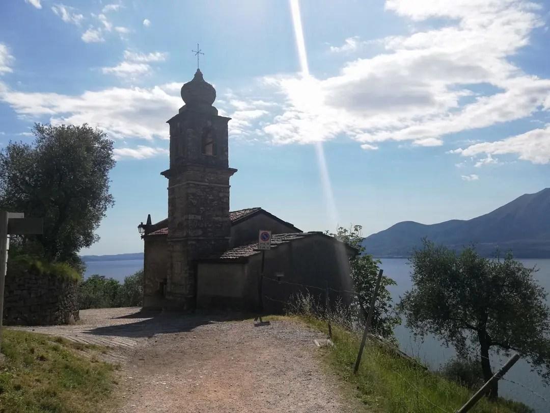 Chiesa di San Siro a Crero, Lago di Garda