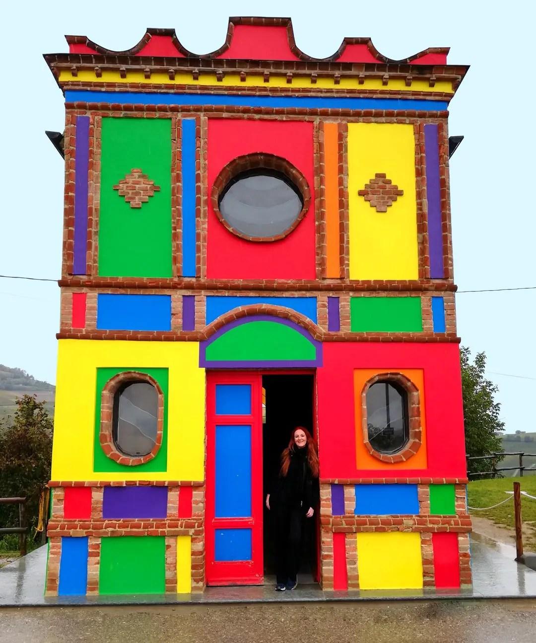 La Cappella del Barolo nelle Langhe