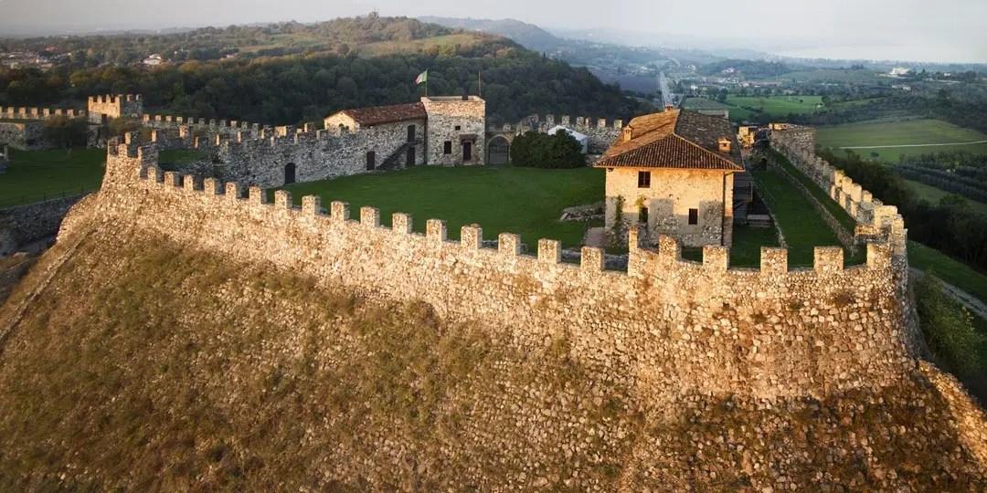 Rocca di Lonato del Garda vista dall'alto
