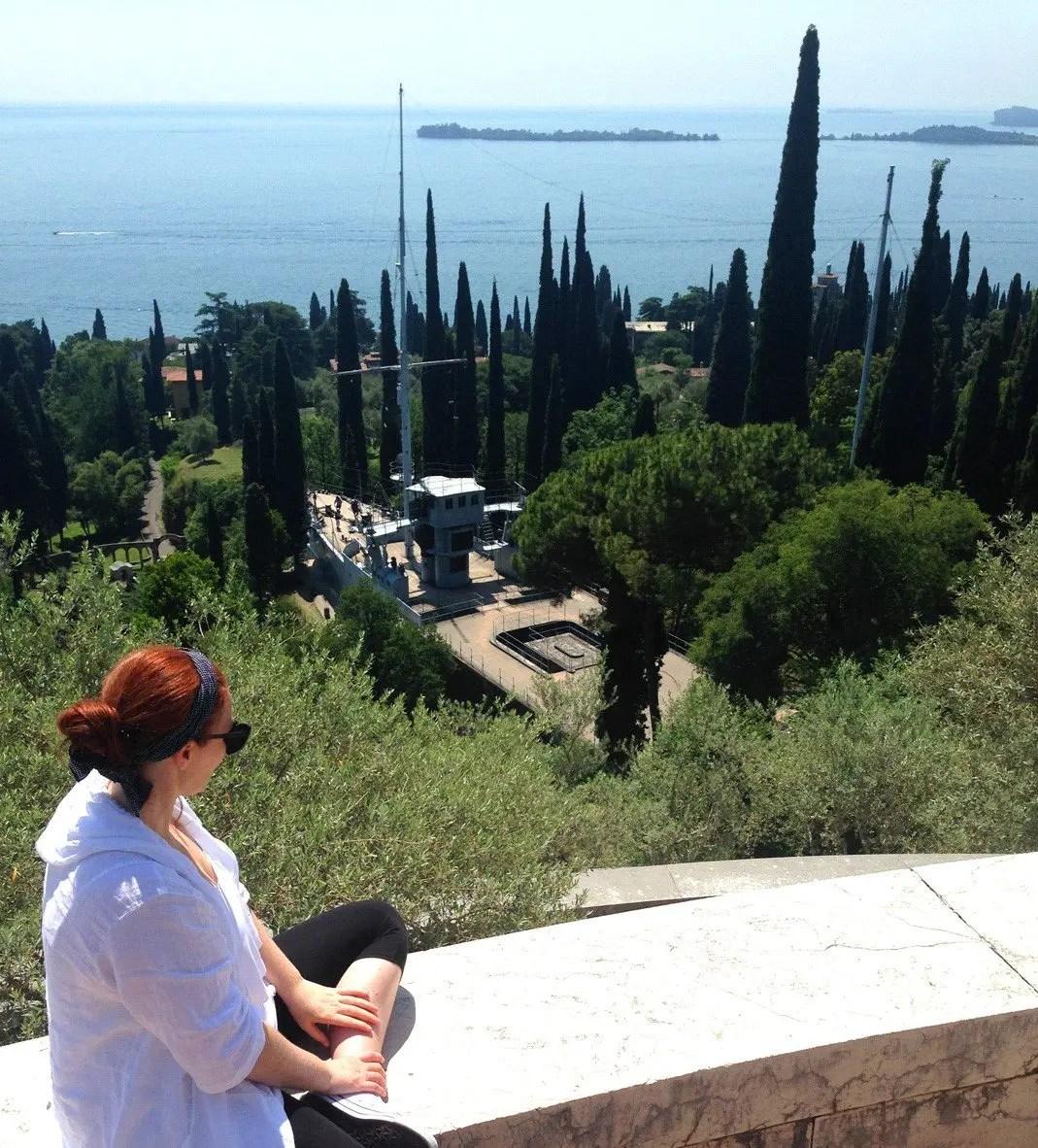 Vittoriale degli Italiani di d'Annunzio a Gardone Riviera, Lago di Garda: visita alla casa museo