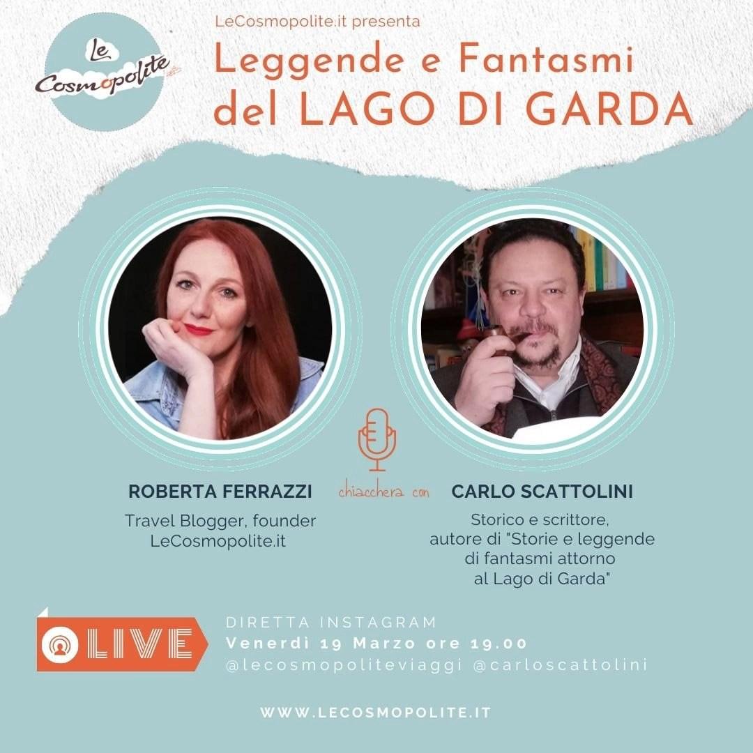 """Evento Live - """"Leggende e fantasmi del Lago di Garda"""
