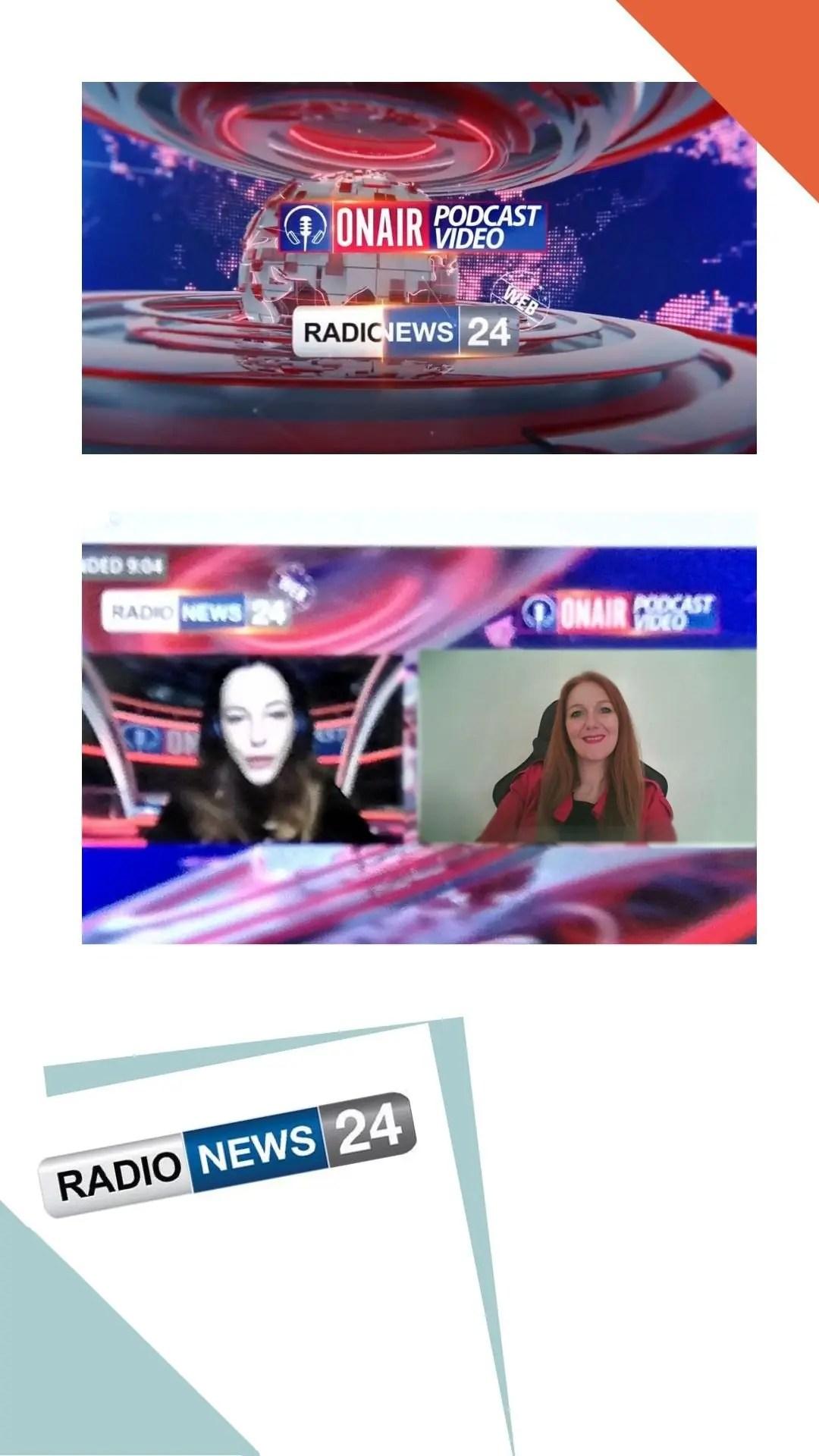 Roberta Ferrazzi - intervista Radio News 24 - LeCosmopolite.it