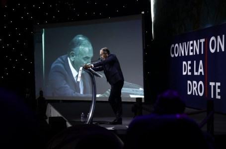 Eric Zemmour à la convention de la droite en septembre 2019