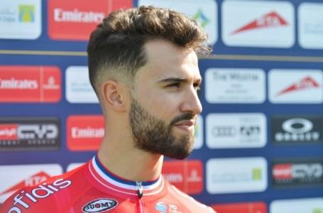 Le cycliste français Nacer Bouhanni ne participera pas au Tour de France 2018. ARTUR WIDAK / NURPHOTO / AFP