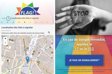 FLAG!, une appli qui mesure précisément la LGBTphobie en France.