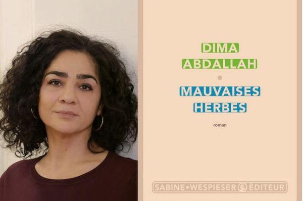 Dima Abdllah reçoit deux prix pour son roman Mauvaises herbes