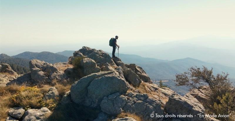 Samir Oueldi, dans les Pyrénées, filmé par le réalisateur Mehdi Ouldsaad.