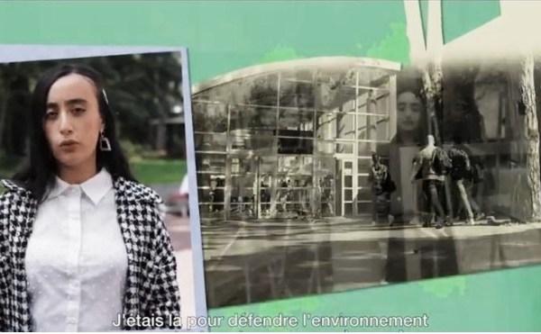 Kenza Sahed inscrite en terminale au lycée des Bruyères (Sotteville-lès-Rouen), est menacée d'expulsion.