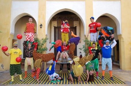 Le Groupe acrobatique de Tanger le 16 septembre 2021 au festival Arabesques à Montpellier
