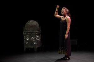 Layla Darwiche le 11 septembre 2021 au festival Arabesques de Montpellier