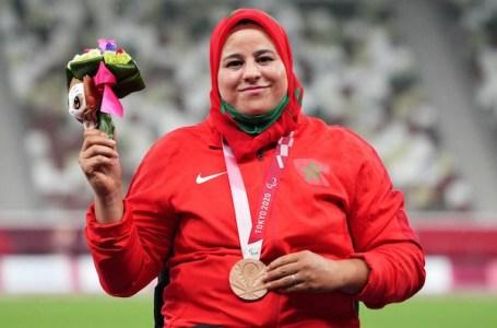 La marocaine Saïda Amoudi remporte le bronze aux jeux paralympiques de Tokyo
