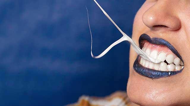Chewing-gum et les dents