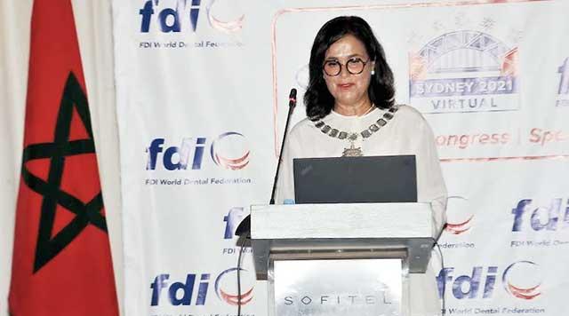 Une marocaine nommée à la présidence de la Fédération Dentaire Internationale FDI