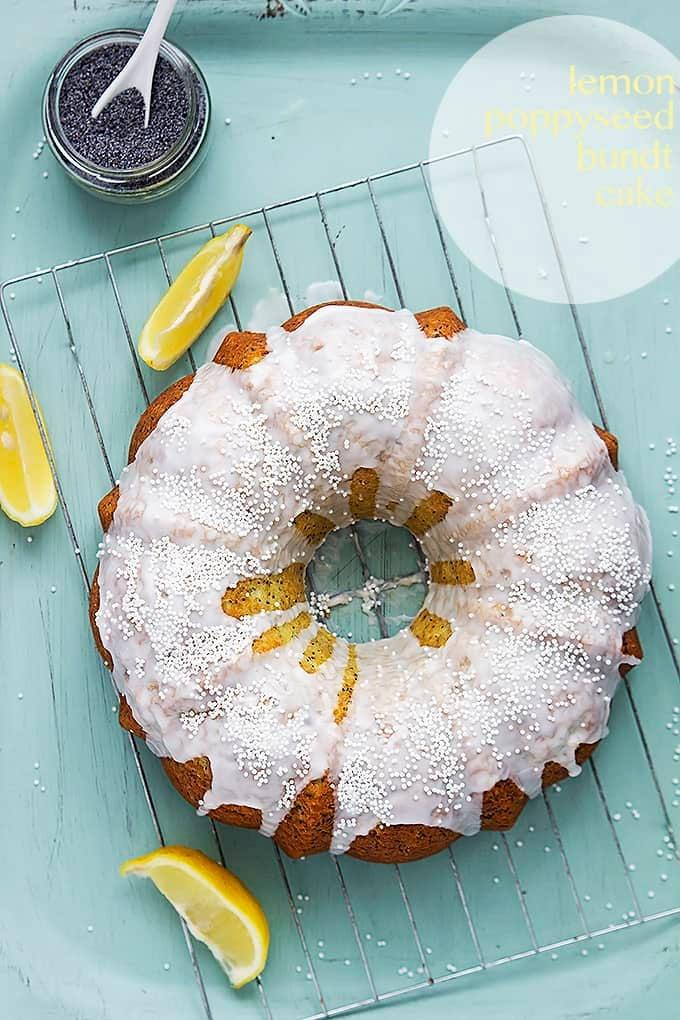 Lemon Poppyseed Bundt Cake   Creme de la Crumb