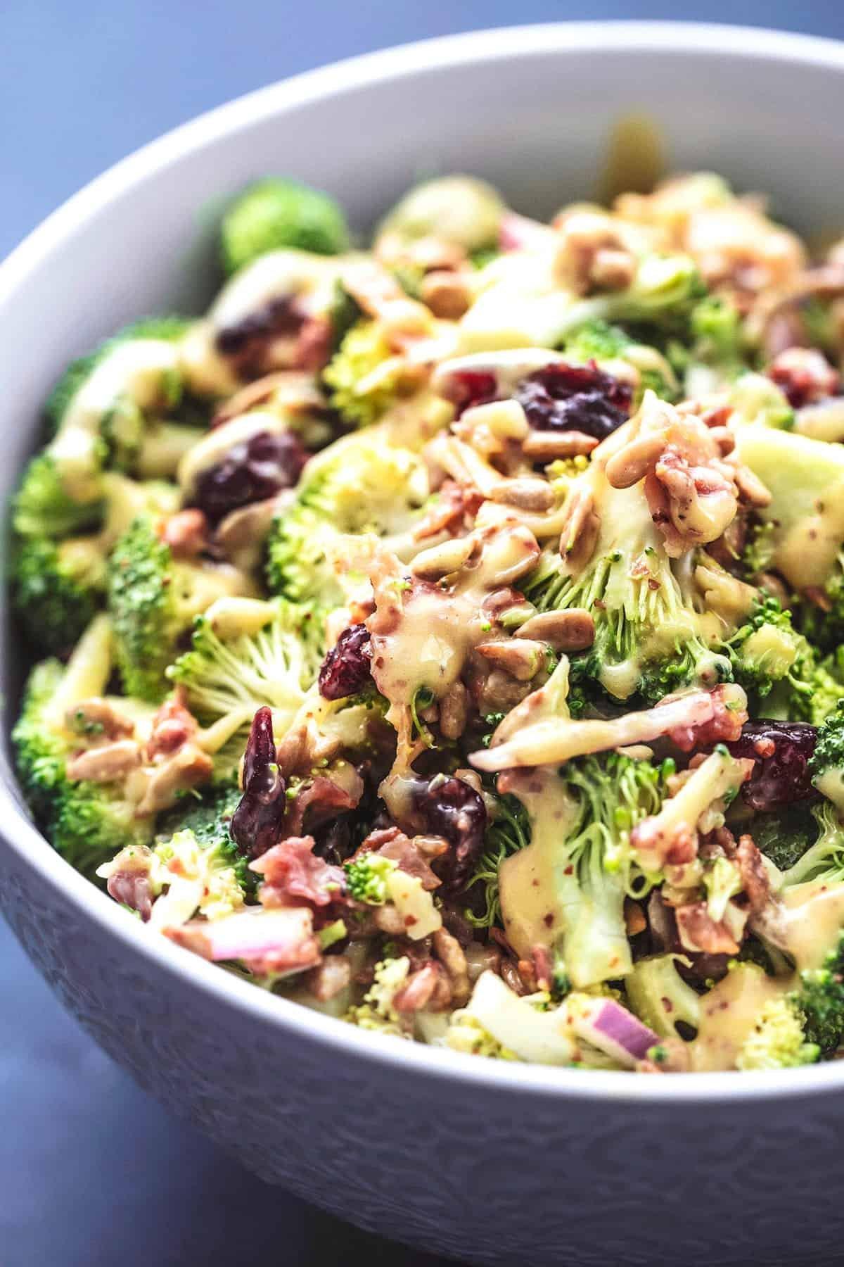 Best Broccoli Salad Recipe (Without Mayo)