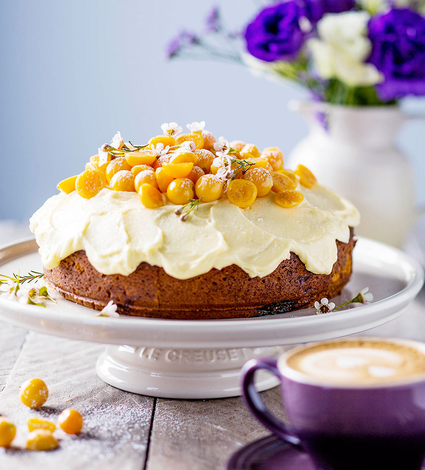 Cape Gooseberry Cake Le Creuset Recipes