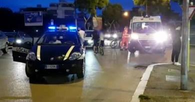 FOGGIA: AUTO TRAVOLGE DONNA IN BICICLETTA