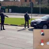 ACERENZA: SORPRESI CON LA DROGA MENTRE VIAGGIANO IN AUTO