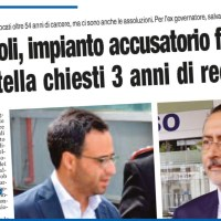 SANITOPOLI, IMPIANTO ACCUSATORIO FALCIDIATO PER PITTELLA CHIESTI 3 ANNI DI RECLUSIONE