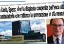 SAN CARLO, SPERA: «PER LA DISPLASIA CONGENITA DELL'ANCA ATTIVATO UN AMBULATORIO CHE RAFFORZA LA PREVENZIONE IN ETÀ NEONATALE»