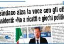 IL SINDACO ALZA LA VOCE CON GLI OTTO DISSIDENTI: «NO A RICATTI E GIOCHI POLITICI»