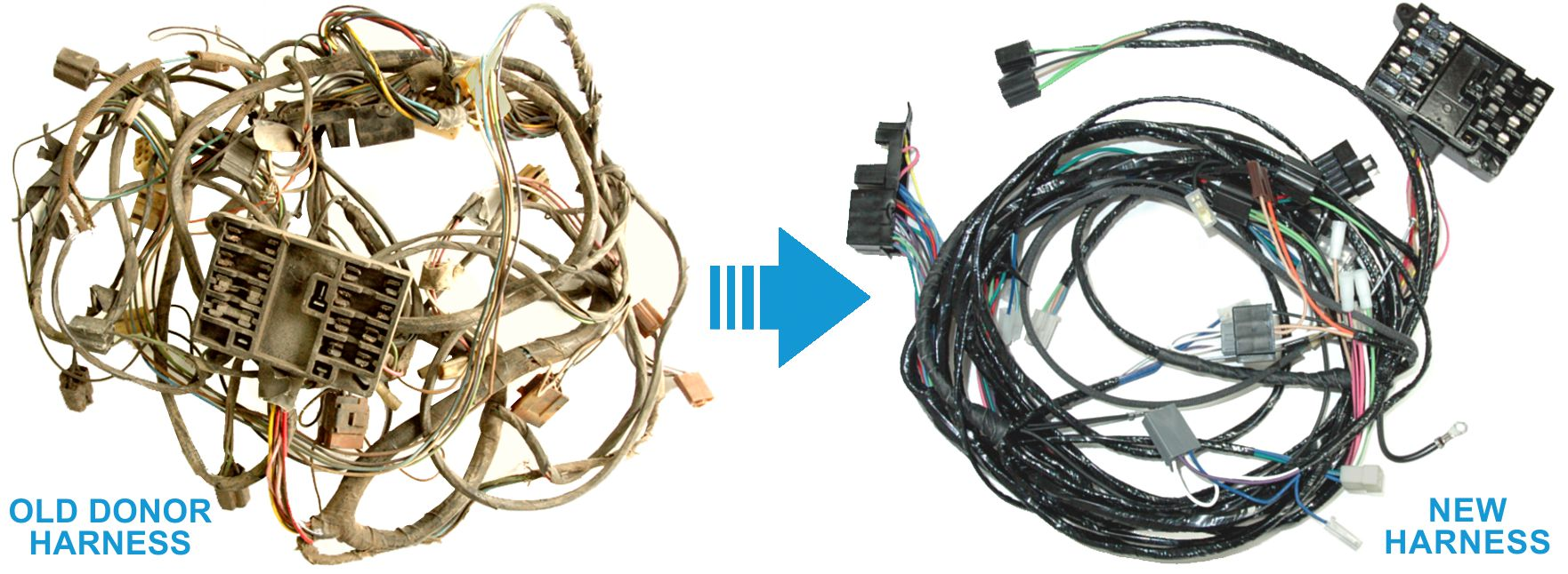 Exact Oem Reproduction Wiring Harnesses For Classic