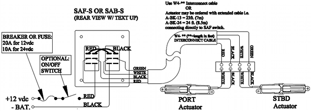 Bennett Trim Tabs Eic5000, Bennett Trim Tab Switch Wiring Diagram