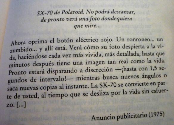acerca de la polaroid