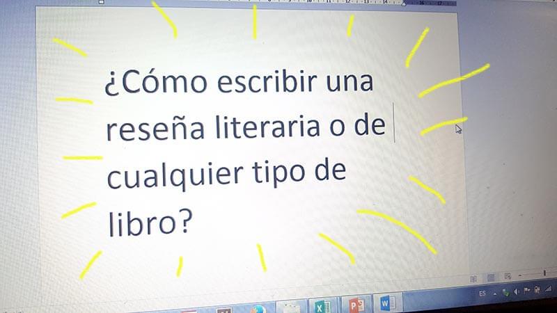 Cómo escribir una reseña literaria o de cualquier libro