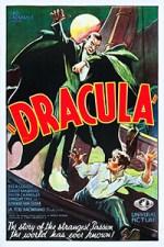 cartel película original drácula 1931