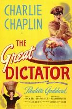 El Gran Dicatador cartel imagen película original