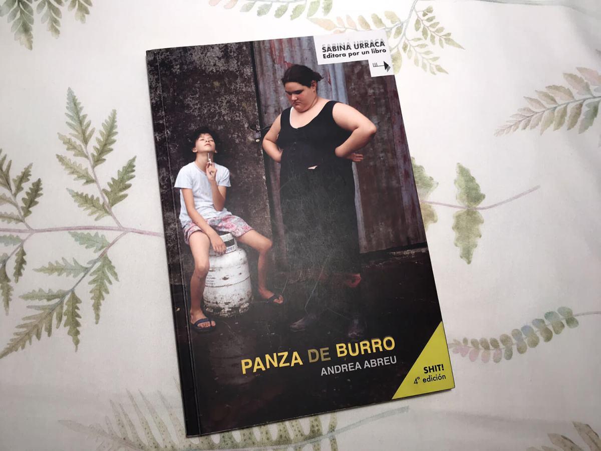 Reseña de Panza de Burro, un libro de Andrea Abreu